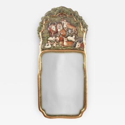 Peaceable Kingdom Mirror