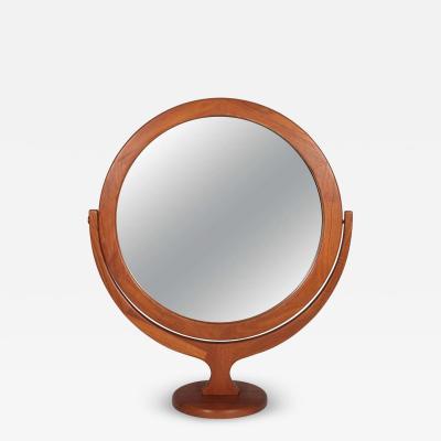 Pederson Hansen Danish Teak Vanity Cheval Mirror
