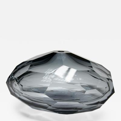 Pedras Faceted Murano Glass Vase