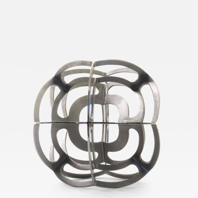 Pedro Cerisola HIDRA rhombic dodecahedron sculpture