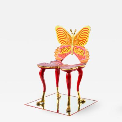Pedro Friedeberg A Sculptural Butterfly Chair by Pedro Friedeberg