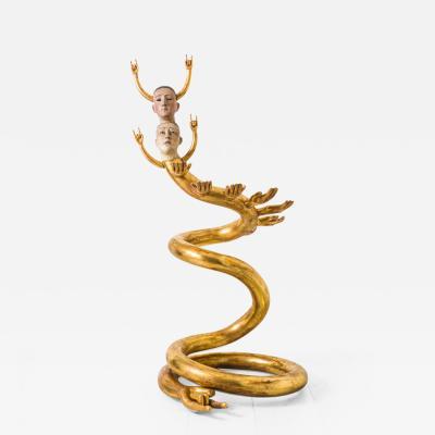 Pedro Friedeberg Pedro Friedeberg Siamese Serpent MEX c 1960s