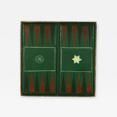 Pennsylvania Backgammon Board Signed Wise
