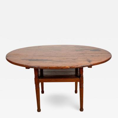 Pennsylvania Tavern Table Chair Circa 19th Century