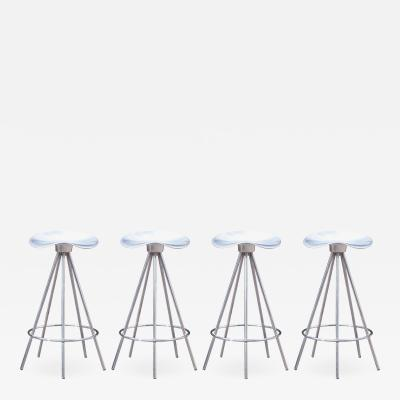 Pepe Cortes Jamaica Counter Stools by Pepe Cort s Manufactured by Amat 3 for Knoll Set of 4