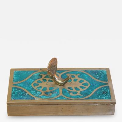 Pepe Mendoza Brass Box by Pepe Mendoza