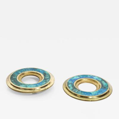 Pepe Mendoza Mid Century Modern Door Ring Pulls by Pepe Mendoza Mexican Modernist