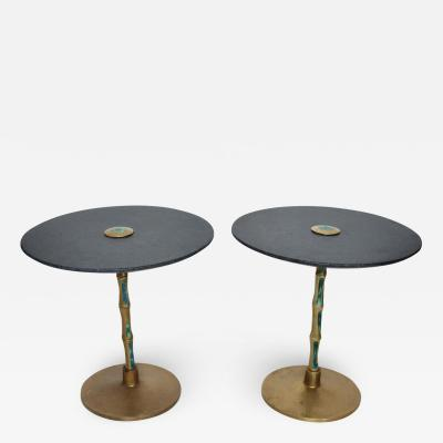 Pepe Mendoza Pepe Mendoza Pair of Side Tables Mid century Mexican Modernist