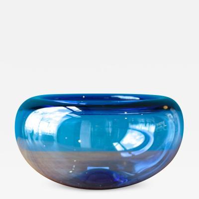 Per L tken Large Danish Provence Bowl by Per L tken for Holmegaard 1950s