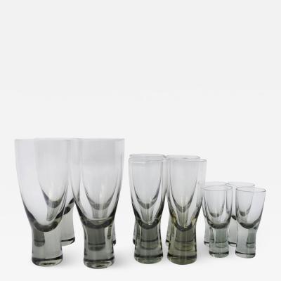 Per L tken Set 12 Per Lutkin Holmegaard Smoked Canada Glasses Wine Aperitif Cordial