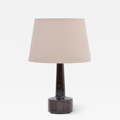 Per Linnemann Schmidt Tall Mid Century Modern Ceramic Table Lamp by Per Linnemann Schmidt for Palshus