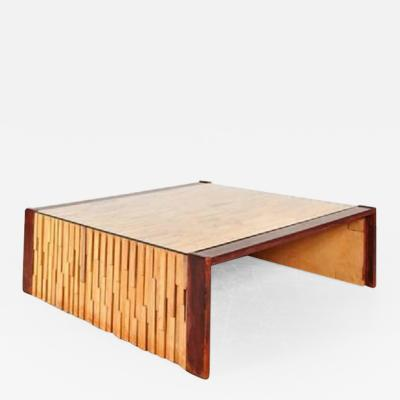Percival Lafer 1960s Large Edition Coffee Table by Percival Lafer Brazil