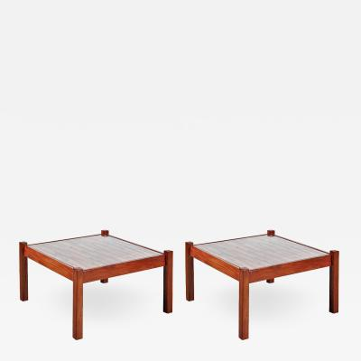 Percival Lafer 1960s Percival Lafer Pair of Coffee Tables