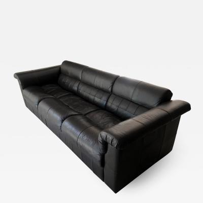 Percival Lafer A Brazilian Leather Sofa by Percival Lafer