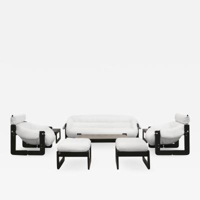 Percival Lafer Club Sofa Set