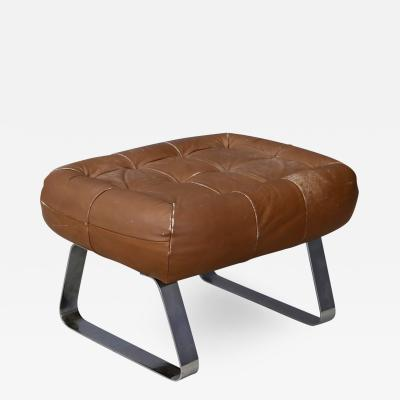Percival Lafer Ottoman MidCentury Percival Lafer Earth Collection with Label 1970s