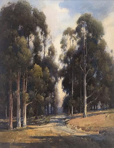 Percy Gray Landscape with Eucalypti