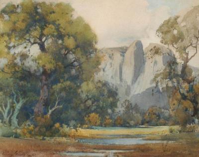Percy Gray Yosemite Valley