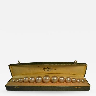 Perfume Bottle Delettrez String of Pearls Parfum XXIII in Box France