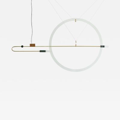 Periclis Frementitis Brass Sculpted Light Suspension Opus X Periclis Frementitis