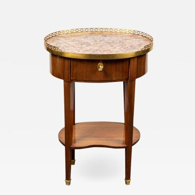 Period Oval Side Table