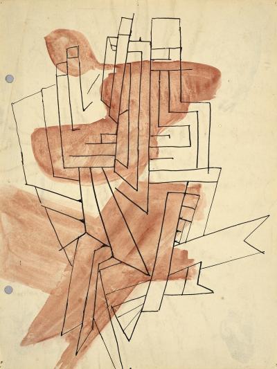 Perle Fine Study for Komposition