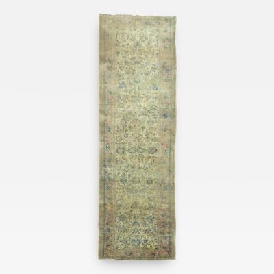 Persian Kashan Gallery Runner rug no 9114