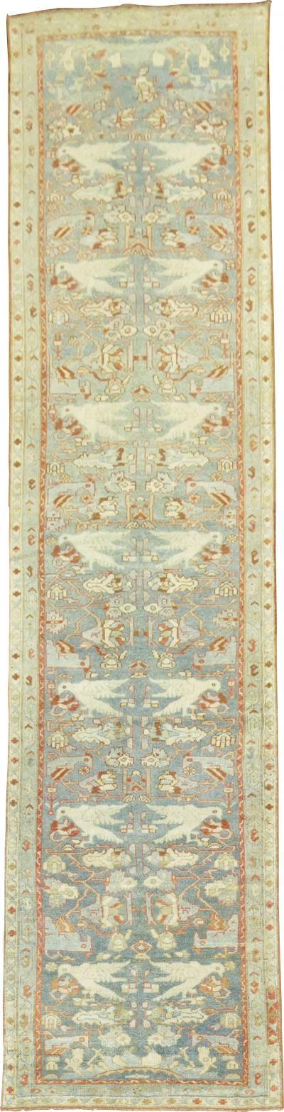 Persian Pigeon Malayer Runner rug no j1375