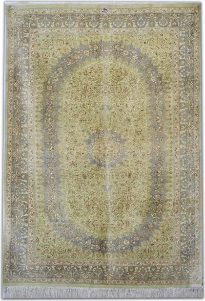 Persian Qum Pure Silk Rug 101 X 150 Cm