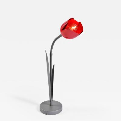 Peter Bliss 1980s tulip table light by Peter Bliss