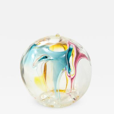 Peter Bramhall Peter Bramhall Glass Orb Sculpture