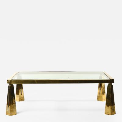 Peter Ghyczy 1980s Coffee Table by Peter Ghyczy
