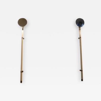 Peter Hamburger Pair of Sconces by Peter Hamburger for Knoll 1970s