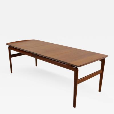 Peter Hvidt Danish Modern Solid Teak Coffee Table Designed by Peter Hvidt