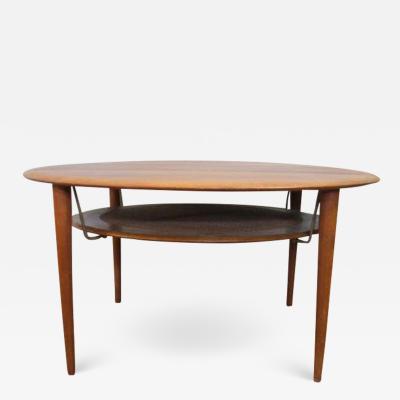 Peter Hvidt Lovely 1960s Danish Teak Coffee Table Attributed to Peter Hvidt