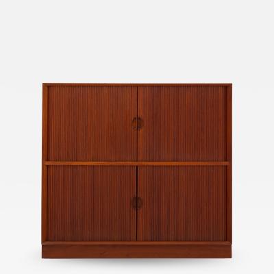 Peter Hvidt Orla M lgaard Nielsen Cabinet with tambour doors