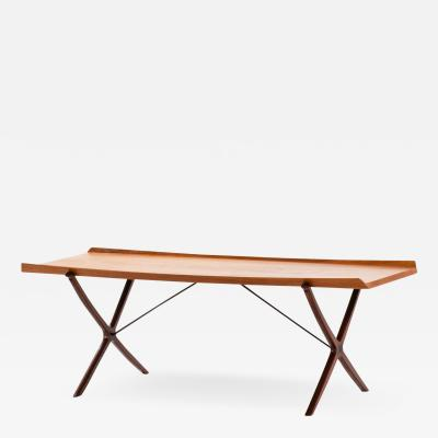 Peter Hvidt Orla M lgaard Nielsen Coffee Table Model 6743 X Table Produced by Fritz Hansen