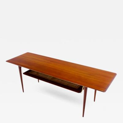 Peter Hvidt Orla M lgaard Nielsen Danish Modern Solid Teak Coffee Table by Peter Hvidt Orla Molgaard Nielsen