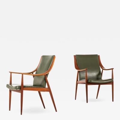 Peter Hvidt Orla M lgaard Nielsen Easy Chairs Produced by France Son