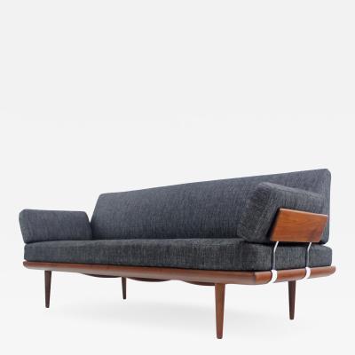 Peter Hvidt Orla M lgaard Nielsen Exceptional Scandinavian Modern Teak Sofa Designed by Peter Hvidt