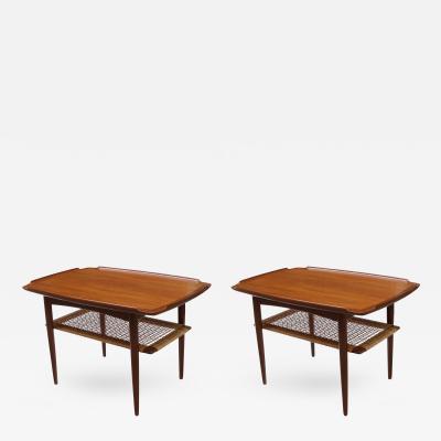 Peter Hvidt Orla M lgaard Nielsen Pair of Modernist End Tables