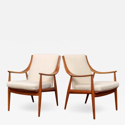 Peter Hvidt Orla M lgaard Nielsen Peter Hvidt Orla M lgaard Nielsen Model FD 146 Lounge Chairs