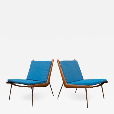 Peter Hvidt Orla M lgaard Nielsen Peter Hvidt Orla Morgaard Nielsen Boomerang Lounge Chairs