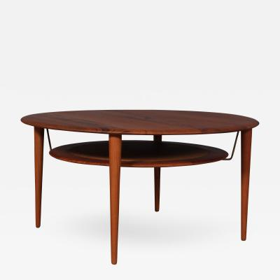 Peter Hvidt Orla M lgaard Nielsen Peter Hvidt and Orla M lgaard Coffee table in solid teak