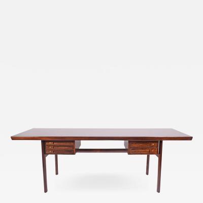 Peter Hvidt Orla M lgaard Nielsen Rosewood Desk by Peter Hvidt Orla M lg rd Nielsen for Pontoppidan