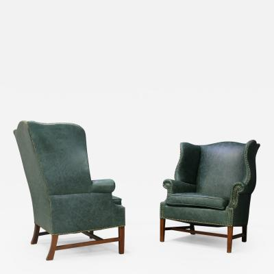 Peter Hvidt Pair of armchairs by Peter Hvidt Orla M lgaard Nielsen Wingback Chair