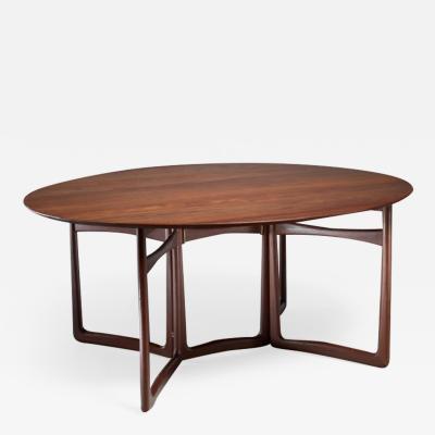 Peter Hvidt Peter Hvidt Drop Leaf Desk or Dining Table Denmark 1960s