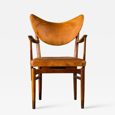 Peter Hvidt Peter Hvidt Leather Armchair