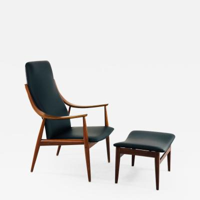 Peter Hvidt Peter Hvidt armchair for France Son mod 146