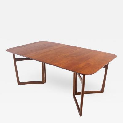 Peter Hvidt Solid Teak Scandinavian Modern Dining Table Designed by Peter Hvidt
